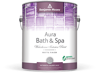 Benjamin Moore Aura Bath & Spa Paint